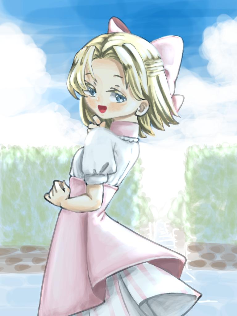 春だけど夏っぽいエリザ姉ちゃん
