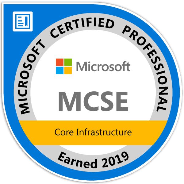 new MCSE logo