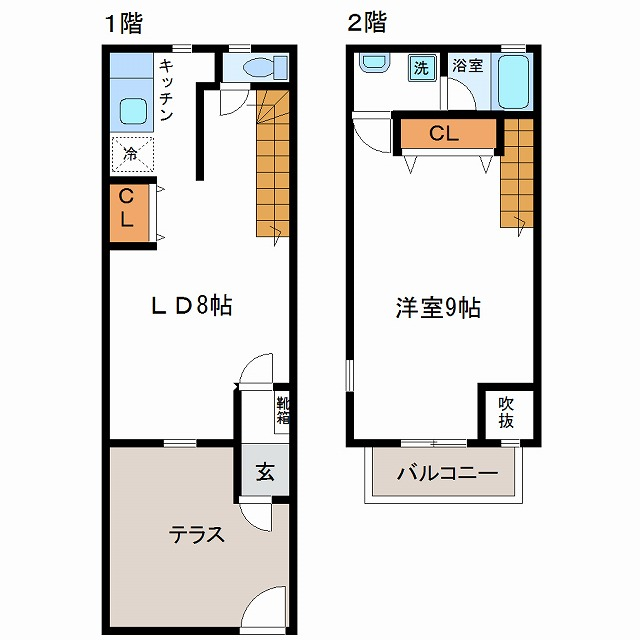 ビーンズハウスⅡ(3号室)