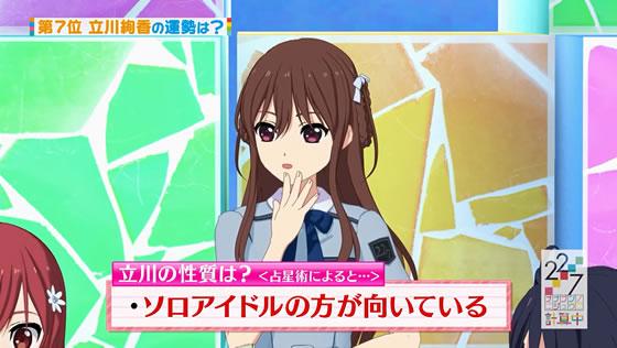 22/7計算中 シーズン1 第28回 | 立川絢香はソロアイドル向き