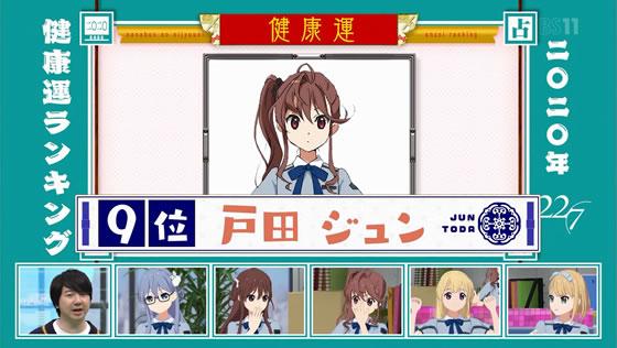 22/7計算中 Season2 第3回 | 2020年健康運ランキング 戸田ジュン