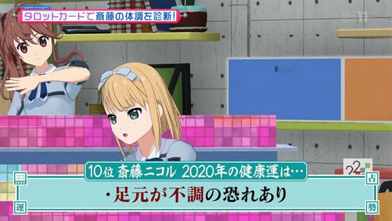 22/7計算中 Season2 第3回 | 2020年健康運ランキング 斎藤ニコル