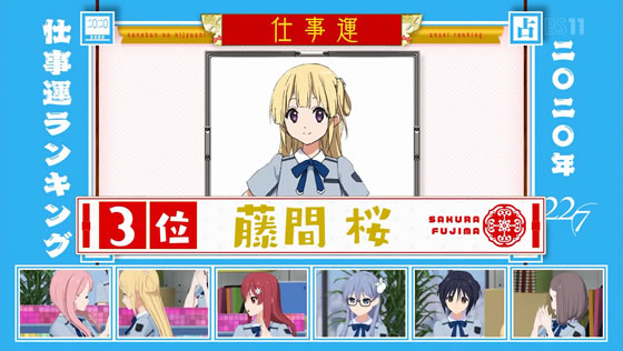 22/7計算中 Season2 第4回 | 2020年仕事運ランキング 藤間桜