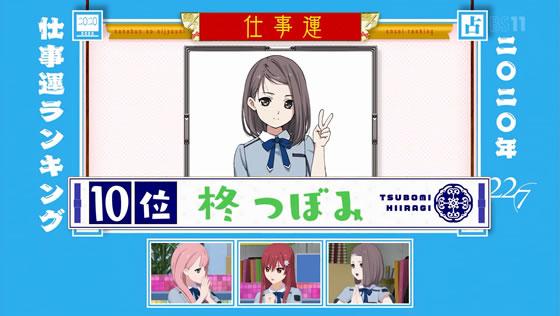 22/7計算中 Season2 第4回 | 2020年仕事運ランキング 柊つぼみ