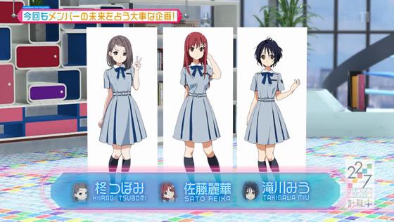 22/7計算中 Season2 第4回 | 出演メンバー(パネル組)