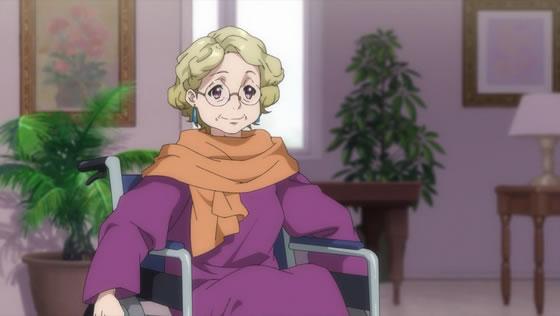 TVアニメ『22/7』第4話 | 藤間桜の祖母