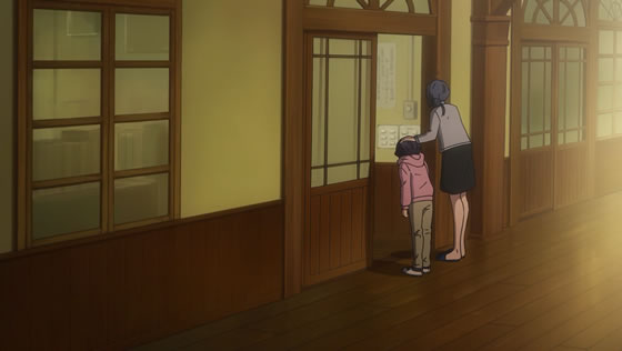 TVアニメ『22/7』第11話   学校に呼び出された滝川ママ