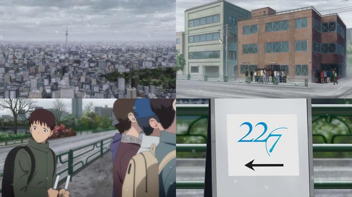 TVアニメ『22/7』第12話『ナナブンノニジュウニ』 | アバンタイトル