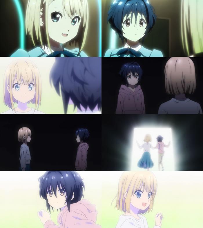 TVアニメ『22/7』第12話『ナナブンノニジュウニ』 | エンディングクレジットの後 | ニコみう