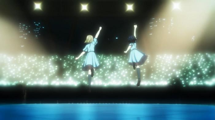 TVアニメ『22/7』第12話『ナナブンノニジュウニ』 | エンディングクレジットの後 | ニコみうジャンプ