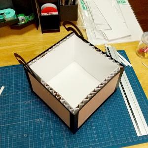 マイクラチェスト風折り紙ケース20
