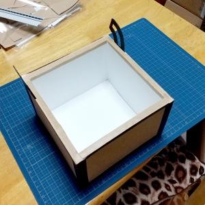 マイクラチェスト風折り紙ケース22