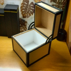 マイクラチェスト風折り紙ケース26