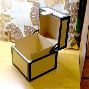 マイクラチェスト風折り紙ケース27