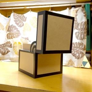 マイクラチェスト風折り紙ケース30