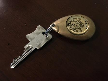 古城ホテル鍵