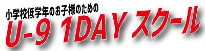 U-9 1DAY ブログ用ボタン