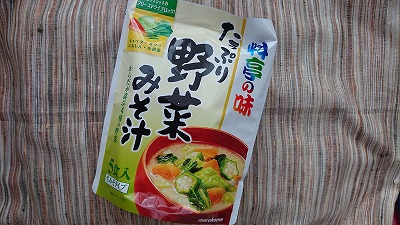 お徳用 料亭の味 たっぷり野菜みそ汁
