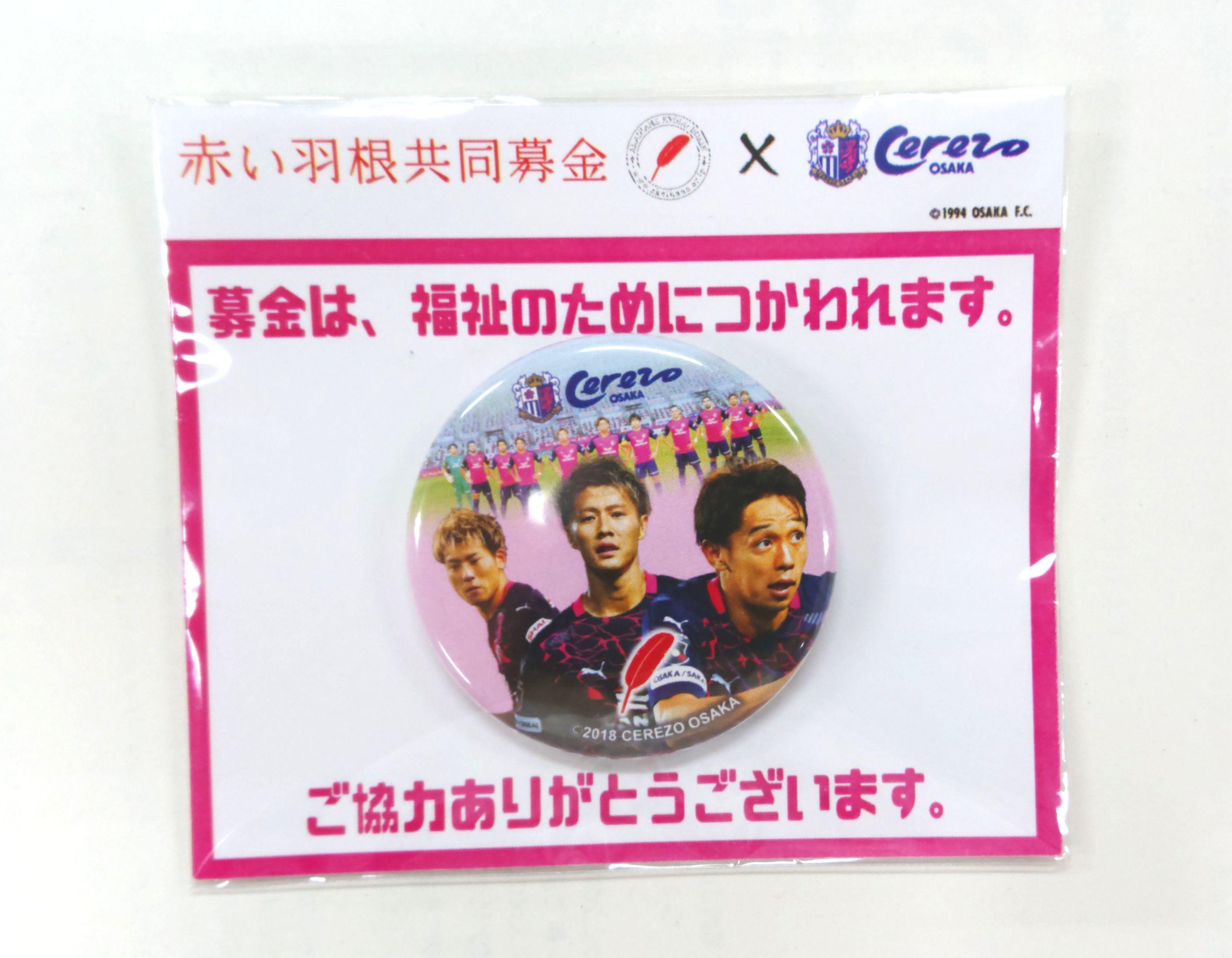 セレッソ大阪vsサンフレッチェ広島戦での募金活動を行いました!