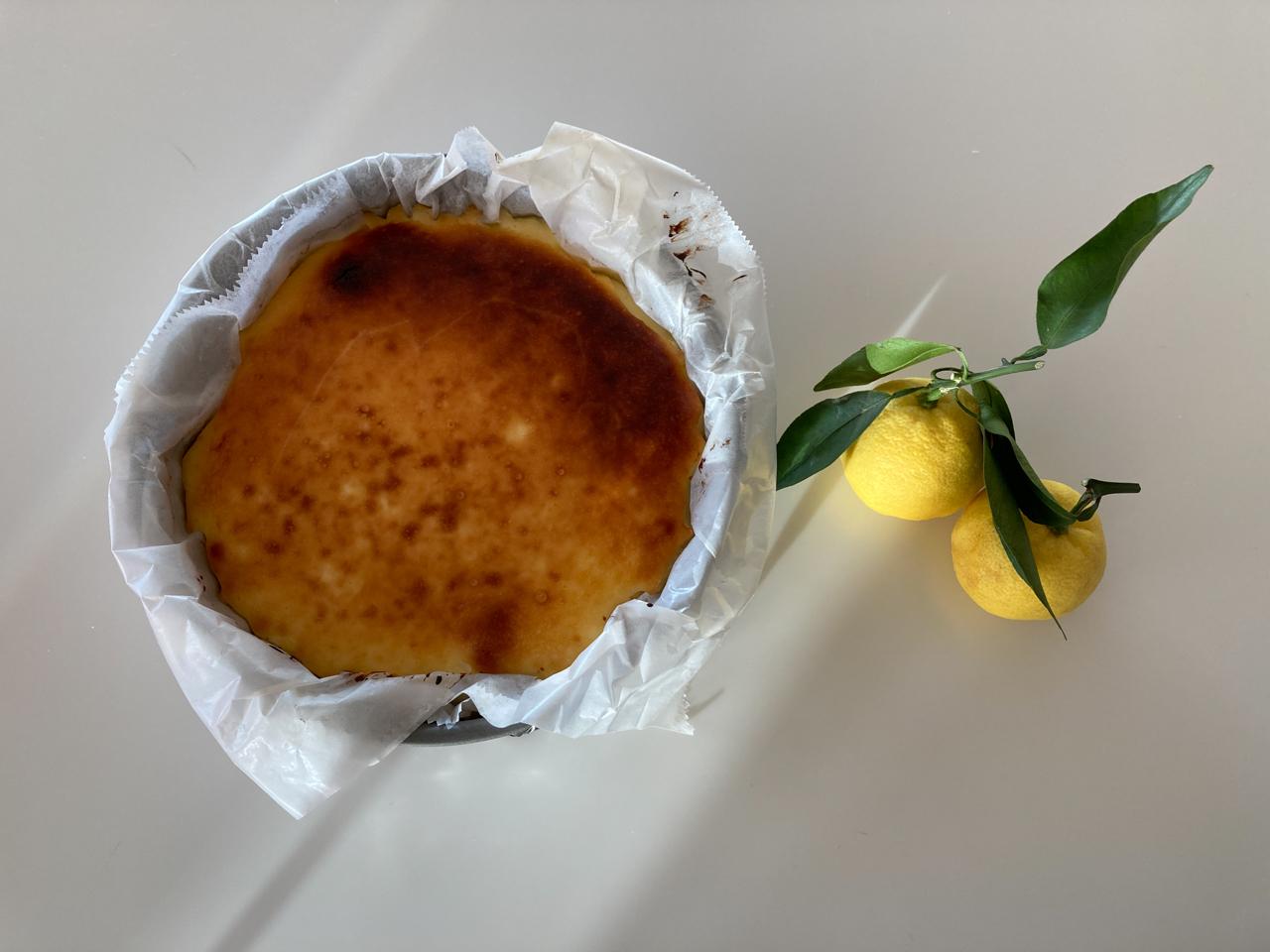 柚子チーズケーキ