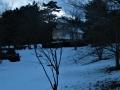大手門の雪