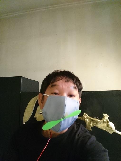 長房さん マスク画像