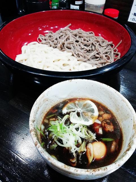 鴨つけ麺をいただきました。(阪神尼崎・麺屋 神楽)