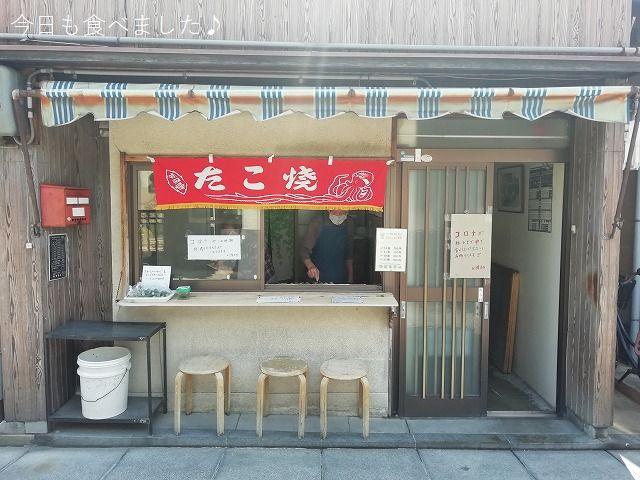尼崎寺町で美味しいたこ焼きが7個100円です!!!(尼崎市東桜木町・たこ焼 岡)