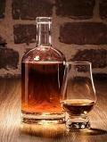 飲み物-ウイスキーストレート