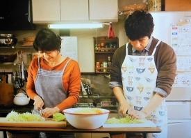 きのう何食べた?第3回コールスローを作る史朗と佳代子