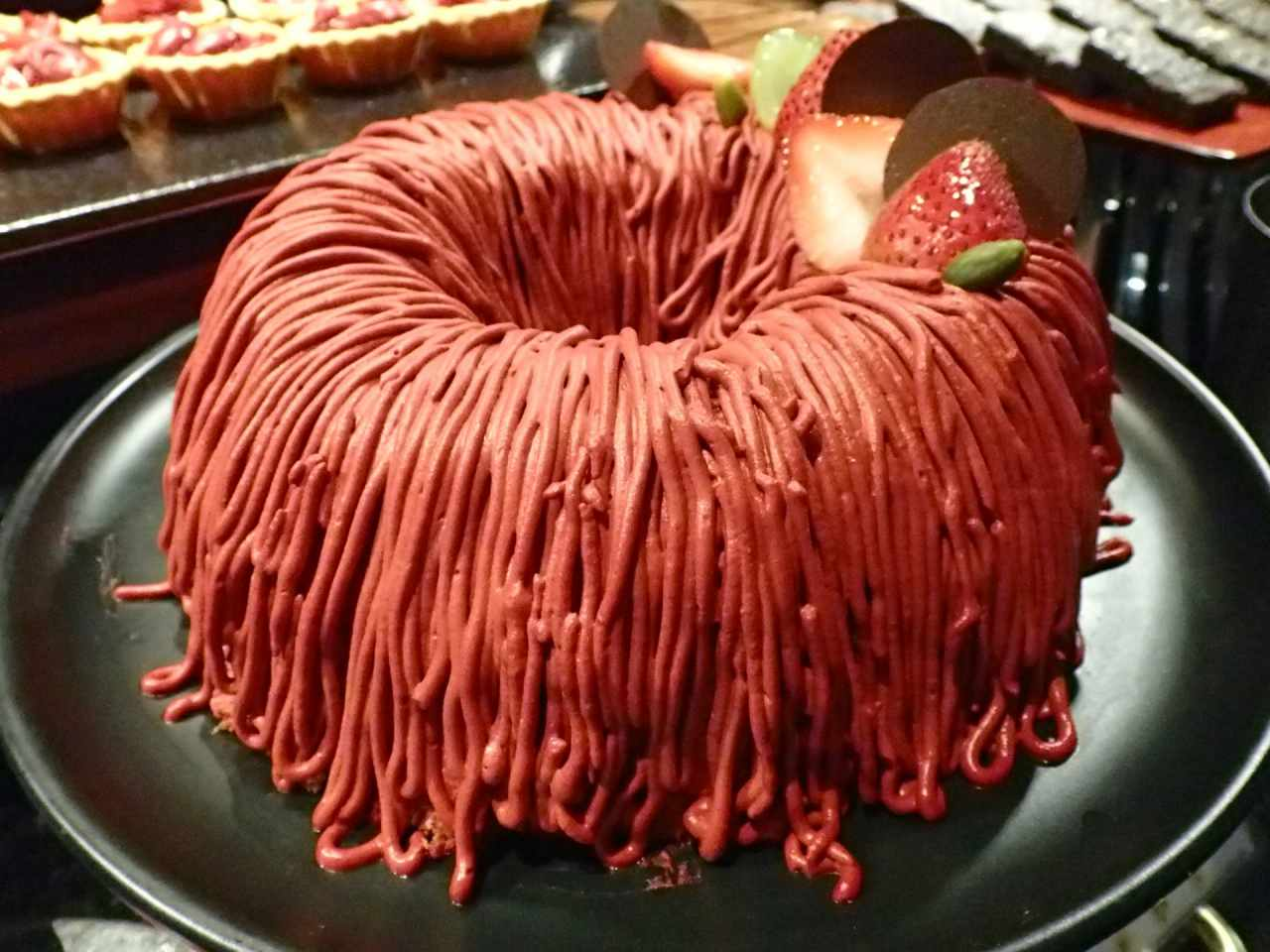 クリムゾンリングケーキ