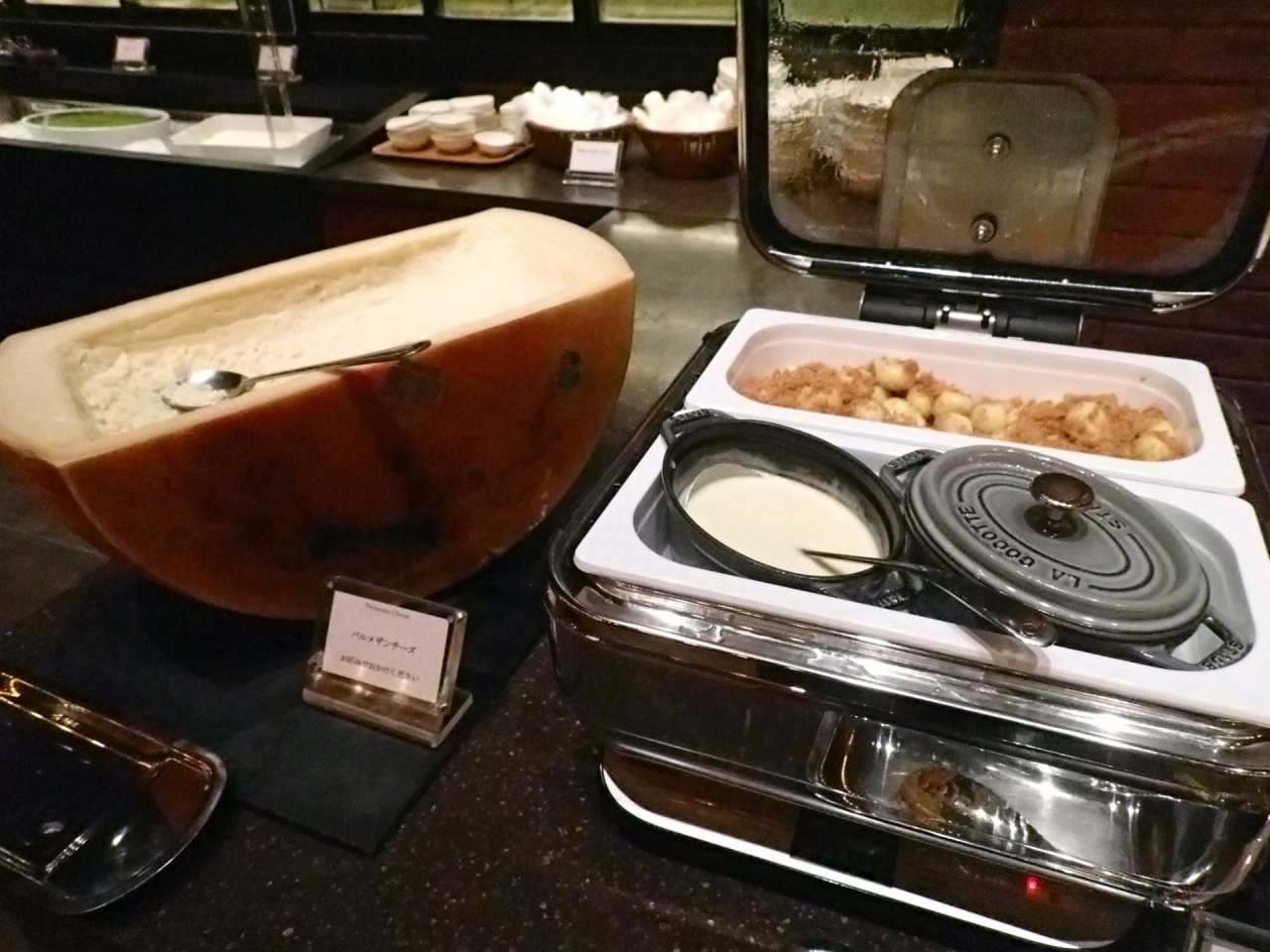 パルメザンチーズとニョッキ