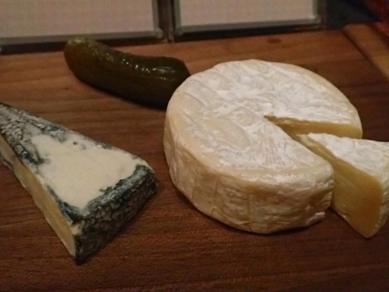 ブルーチーズ、カマンベール