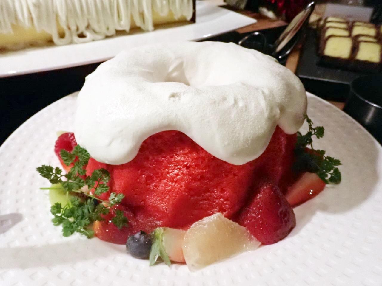 ウリエルの祝福赤いバウンドケーキ