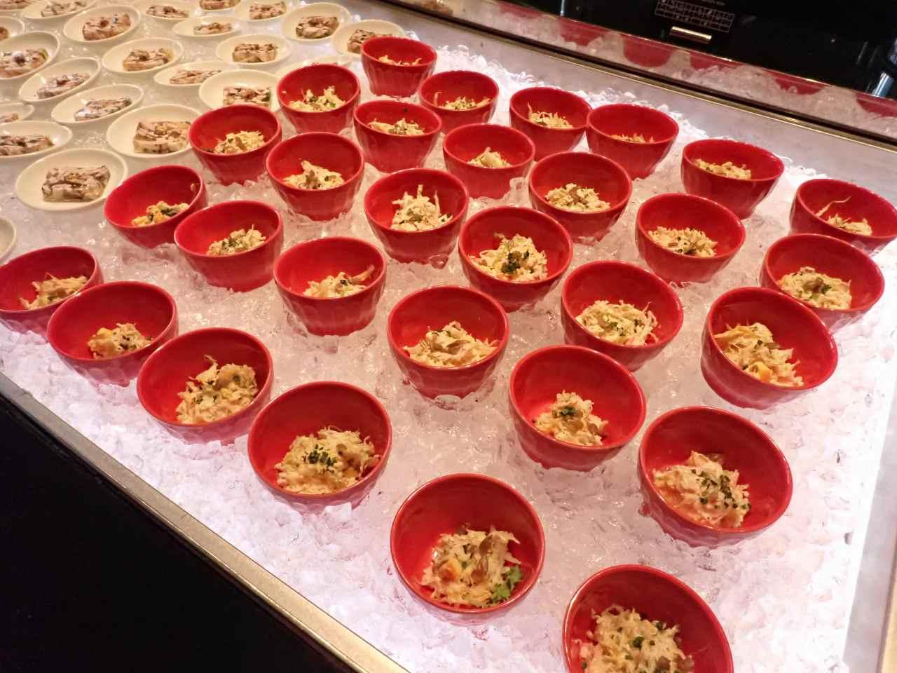 シトラス風味の芽キャベツスロー