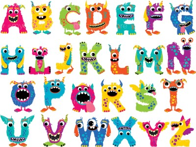 英語アルファベット表alphabets chart2