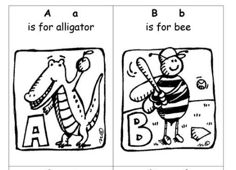 小学校英語楽しいプリント学習ABC Booklet