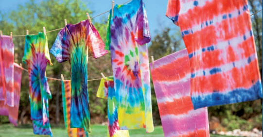 how to Tie-Dye-a-Shirt3