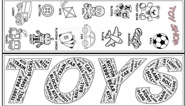 toys bookmark