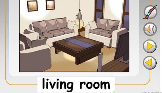 英語部屋の名前rooms ppt1