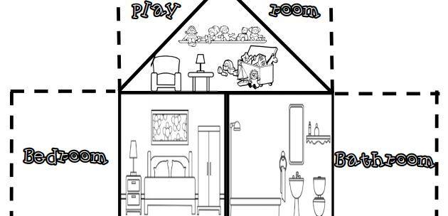 rooms worksheet1
