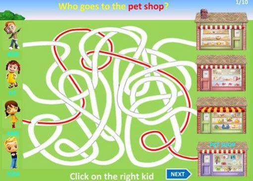 places around the city maze