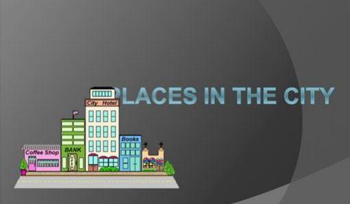 身の回りの建物を表す英単語places in the city