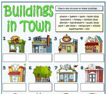 buildings worksheet