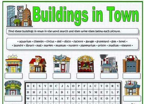 buildings worksheet2