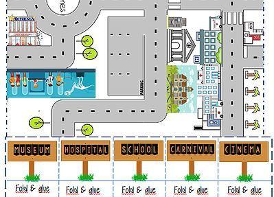 around the city craft worksheet