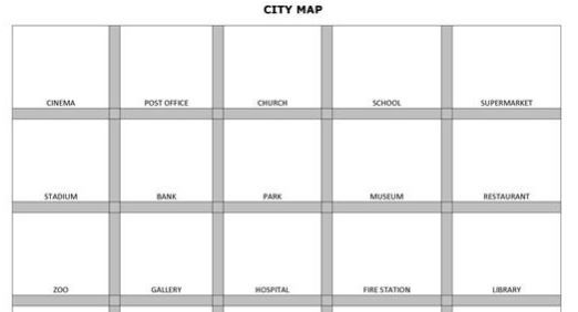 my city craft worksheet