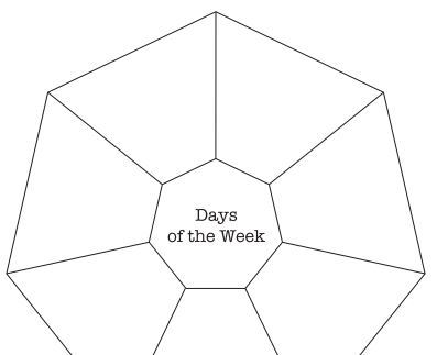 days of the week puzzle board1