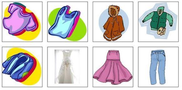 clothes minicard