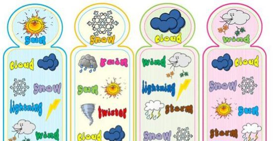 weather bookmarks